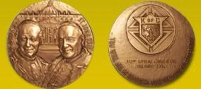 Medaglia commemorativa 132° Convention ad Orlando - 2014.