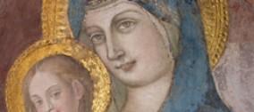Restauro effige della Madonna della Colonna