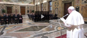 Centenario KofC a Roma: Udienza Privata con Papa Francesco