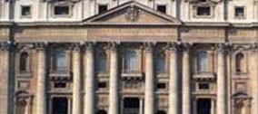 Restauro della Facciata della Basilica di San Pietro.