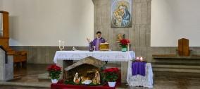 Santa Messa Natalizia dei Cavalieri di Colombo al Centro Sportivo Pio XI