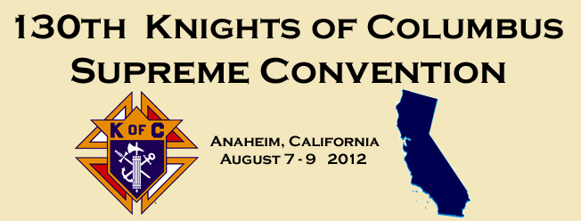 "130th Supreme Convention of the Knights of Columbus "" width="
